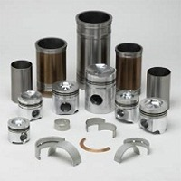 Engine parts for diesel engines